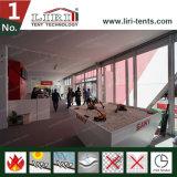 Casa da barraca da ponte dobro do cubo para a exposição e a sala de exposições