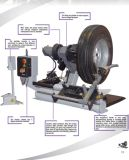 FsdL5088項目名前: 機械を降ろす大きいタイヤ