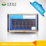 """5 """" Holter 혈압 모니터를 위한 TFT LCD 디스플레이"""
