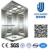 Лифт резиденции домашний с приводом AC Vvvf беззубчатым (RLS-133)