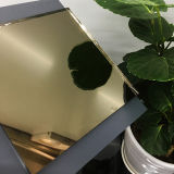 Miroir teinté par Huafa en bronze léger de miroir
