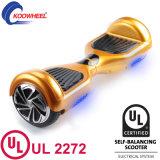 Individu de Deux-Roue équilibrant le scooter électrique intelligent avec les Etats-Unis diplômées par UL2272 en stock