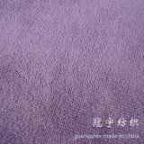Tissu court d'Alova de velours de tache de pile de capitonnage