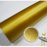 Tsautop ha colorato l'oro spazzolato dell'autoadesivo dell'automobile del vinile dell'involucro dell'automobile del bicromato di potassio
