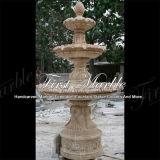Fontana di marmo Mf-1023 del calcio dell'oggetto d'antiquariato della fontana del granito della fontana della pietra della fontana