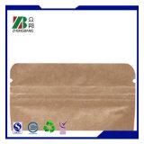 Sacchetto di lusso della carta kraft Con la laminazione della stuoia (QD141)