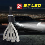 2016 S7 promoveram lâmpada principal do diodo emissor de luz do carro da ESPIGA H7 a auto