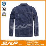 Vestiti del rivestimento della lavata della scimmia del denim della maglietta dell'uomo