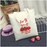 Sac d'emballage de grande capacité de sac à main de consommation quotidienne de sac d'épaule d'élève de sac de plage de loisirs de sac à provisions d'impression de fraise