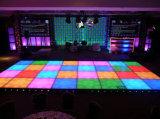 I nuovi prodotti variopinti illuminano in su il LED interattivo illuminato Dance Floor Dance Floor