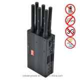 2014 Handheld novo 6 Bands 4G Lte 4G Wimax Cell Phone Jammer 4G Jammer 3G Jammer