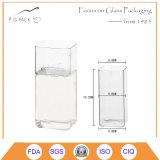 tazza di vetro della bevanda su ordinazione 360ml per latte