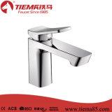 Nuevo diseño de latón pulido Cromo Cuerpo baño de latón grifo del lavabo (ZS41603)