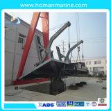 Type davier de bras de dispositif de relevage de densité de bateau de sauvetage de bateau de sauvetage