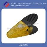 Clips magnético Custom Plastic Clips para Promotion (XLJ-2121)