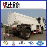 6 caminhão de tanque do petróleo do combustível dos veículos com rodas 10000L