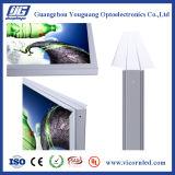 Doppelter seitlicher Aluminium-Verschlussrahmen LED helles Box-FDD43