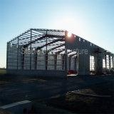 Construction pré conçue de structure métallique pour l'atelier
