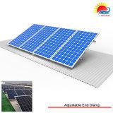 O painel solar de telhas de telhado da resistência de carga do vento forte monta (NM0037)
