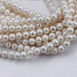 8-9mmの卸売価格の自然で白い培養されたアイボリーの真珠のビード
