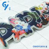 Подгонянное высокое качество Design Embroidered Patch для Garment и Jacket