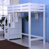 シングル・ベッドのダブル・ベッドの木のベッドの子供の高いベッド(M-X1080)