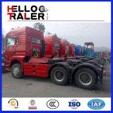 6X4 Type 336HP Euro 2中国HOWO Trailer Tractor Truck Head