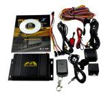 Perseguidor do GPS do veículo com sistema de travamento central da porta do controlador remoto