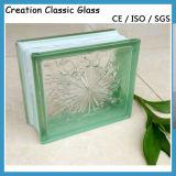 Blocco di vetro/mattone di vetro blu/tinti per il vetro della costruzione