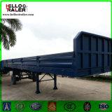 40 piedi del muro laterale di carico del contenitore del rimorchio dell'Tri-Asse del carico di rimorchio semi