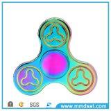 Hilanderos de la persona agitada del metal del arco iris sin la rotación del ruido 3-5minutes