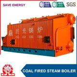 Caldaia a vapore Chain orizzontale della griglia del Doppio-Timpano industriale di Szl20-1.6MPa