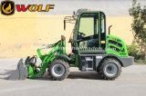 Carregadeira de rodas Zl08 com braço de elevação