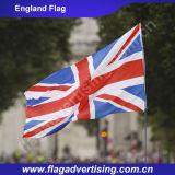 Indicateur 100%, indicateur national fait sur commande d'impression polychrome de polyester de vente en gros d'usine de l'Angleterre