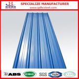 カラーによって波形を付けられる電流を通された鋼板