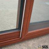 Окно цветастого профиля UPVC сползая с специальным краем Kz287