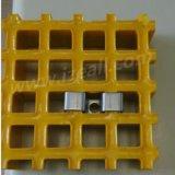 FRP kratzendes Panel im quadratischen Ineinander greifen