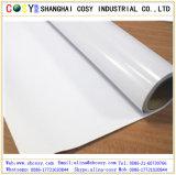 Vinilo auto-adhesivo movible de calidad superior del pegamento blanco/gris/negro para Prinitng