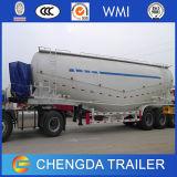 Acoplado del almacenaje del transporte del cemento de 3 del árbol acoplados del petrolero para la venta