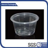 Чашка соуса впрыски устранимая пластичная с крышкой