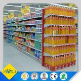 Mittlere Aufgaben-Supermarkt-Regale für Bildschirmanzeige