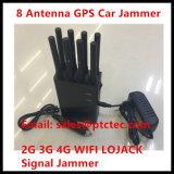 Brouilleur portatif tenu dans la main puissant de signal de 8 bandes