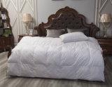백색 시트와 베갯잇 오리 기털 & 아래로 깃털 이불 호텔 위안자