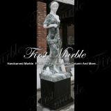 Marmeren Veelkleurig Standbeeld Mej.-658 van het Standbeeld van het Graniet van het Standbeeld van de Steen van het Standbeeld