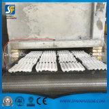 Bandeja de papel semiautomática de la placa de la fruta del huevo de la capacidad 2000-4000piece que forma haciendo la máquina