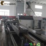 Dobro - linha de produção plástica de madeira da placa do PVC do parafuso para o Decking/revestimento ao ar livre