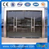 Porta resistente da mola do assoalho de Frameless com vidro Tempered