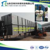 Fábrica de tratamento da água de esgoto do pacote STP, equipamento industrial barato do tratamento de Wastewater