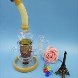 Riciclatore di vetro popolare del tubo con Percs in-linea