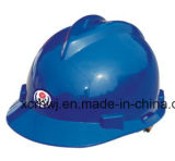 Bom e vendendo bem Glow in The Safety Yellow Capacete da construção Capacetes / 2016 Moda EN397 Certificado personalizado / PE Materiais V Tipo Capacetes industrial